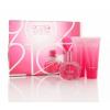 Beverly Hills 90210 Tickled Pink női parfüm Set (Ajándék szett) (eau de toilette) edt 100ml + Tusfürdő 100ml + Testápoló tej 100ml