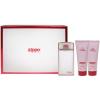 Zippo Fragrances The Woman női parfüm Set (Ajándék szett) (eau de parfum) edp 75ml + Tusfürdő 75ml + Testápoló tej 75ml
