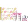 Versace Bright Crystal női parfüm Set (Ajándék szett) (eau de toilette) edt 50ml + Tusfürdő 50ml + Testápoló tej 50ml