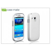 CASE-MATE Samsung i8190 Galaxy S III Mini hátlap - Case-Mate Barely There - white