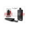 LG Pierre Cardin Slim álló tok, fekete, LG KU990