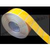 35×23mm fluó narancs címke visszaszedhető ragasztóval