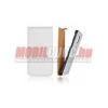 CELLECT HTC Desire X flip bőr tok, Fehér