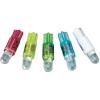 Conrad LED izzó, W2 x 4,6 d, 12 V, fehér, T5 Wedge Base Lamp (Dome), Barthelme 70112242