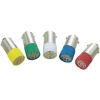 Conrad LED izzó, BA9s, 12 V, borostyán, T10 BA9S Multi 2Chips Flat Lamp, Barthelme 70113086