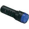 Conrad LED-es Pilot Lihgt villogó és hangjelzést adó izzó 16 mm 12 V DC/AC zöld Barthelme 58931213