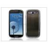 Samsung i9300 Galaxy S III chrome hátlap - barna