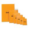 Clairefontaine Rhodia narancs jegyzetblokk  80lap  vonalas 11x17cm