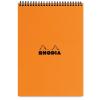 Clairefontaine Rhodia Classic narancs spirálblokk Mérete: 14 8x21cm vonalas