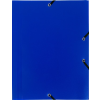 Exacompta gumis mappa PP  kék  A4