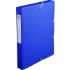 Exacompta füzetbox  PP  kék  A4  40mm