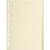 Exacompta Nature future elválasztólapok kartonból  1-31  31 db