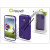 Muvit Samsung i9500 Galaxy S4 hátlap - Muvit miniGel - lila