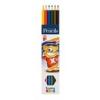 ICO Creative Kids színes ceruza készlet, 6 szín