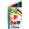 ICO Süni Jumbo színes ceruza készlet, vastag, háromszögletű 12 szín