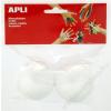 APLI Styropor gömb, 60 mm, APLI Creative (LCA13280)