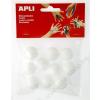 APLI Styropor gömb, 25 mm, APLI Creative (LCA13278)