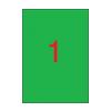 APLI 210x297mm színes zöld 20db/cs