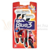 Gillette Blue3 RED Eldobható borotva 3 db