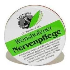 W.nervenpflege tabletta 60 db gyógyhatású készítmény