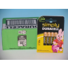 DURACELL Simply MN2400 AAA LR03