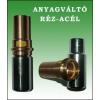 Anyagváltó Acél-RÉZ DN25-28 PRESS