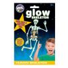 Brainstorm Cosmic Glow Foszforeszkáló Emberi Csontváz