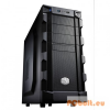 "CoolerMaster K280 Black Black,2x5,25"",1 + belső 6x3,5"",ATX,Midi Tower,1xUsb,Audio,Táp nélkül,219x429x480mm,1x"