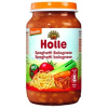 Holle bio bébiétel, bolognai spagetti