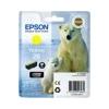 Epson T26144010 Tintapatron XP 600, 700, 800 nyomtatókhoz, EPSON sárga, 4,5ml
