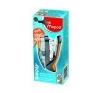 MAPED Tûzõgép, 24/6, 26/6, 25 lap, könnyített tûzés, dobozos, MAPED Easy Half-Strip tűzőgép