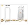 Gecko Apple iPhone 5 védőkeret - Bumper - Gecko Lianzoo - clear/white