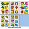 Gemüse (Zöldségek) Német nyelvű TanulóKártya Csomag - 178db-os készlet