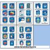 Weihnachten (Silvester) Német nyelvű TanulóKártya Csomag - 178db-os készlet