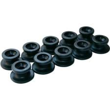LAS Kerek kötélvezető gombok, 10 részes, Ø 20 x 13 mm, LAS 10672 utánfutó