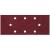 Wolfcraft Csiszolólap készlet rezgőcsiszolóhoz 93 x 230 mm, 15 db, szemcse méret: 40/80/120, Wolfcraft 8409000