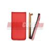 CELLECT Nokia Lumia 720 Flip bőr tok, Piros