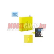 Nokia micro usb-s hordozható töltő, C.sárga mobiltelefon kellék