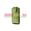 Redpoint iPhone 4/4S méretű bőr mágneses tok,Zöld