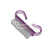 Moonbasanails Mini portalanító kefe erős szőrrel lila