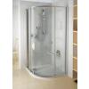 Ravak PSKK3-90 negyedköríves zuhanykabin Fehér/Króm+Transparent