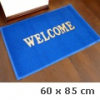 Spagetti mintás szennyfogó szőnyeg - Kék (60x85 cm)