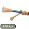 Vento 20 mm fém, Bükk vékony tartóval, egysoros, 200 cm