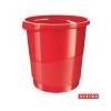 ESSELTE Papírkosár, 14 liter, ESSELTE Europost, Vivida piros