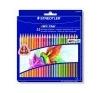 STAEDTLER Színes ceruza készlet, háromszögletû, STAEDTLER Noris Club, 24 különbözõ szín színes ceruza