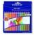 STAEDTLER Színes ceruza készlet, háromszögletû, STAEDTLER Noris Club, 24 különbözõ szín