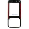 Nokia 5610 Előlap (Hangszóróval) Piros