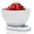Laica elektronikus konyhai mérleg mérőedénnyel - fehér