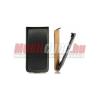 CELLECT Huawei P6 Flip bőr tok, Fekete