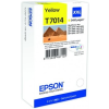 Epson T70144010 Tintapatron Workforce Pro 4000, 4500 sorozat nyomtatókhoz,  sárga, 34,2 ml